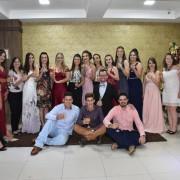 Confraternização dos concluintes da 3ª série A do Ensino Médio, do Colégio Rural Estadual de Pinhalzinho.