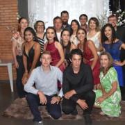 Confraternização dos concluintes da 3ª série B do Ensino Médio, do Colégio Estadual Floriano Peixoto.