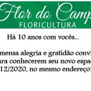 Reinauguração Floricultura Flor do Campo – 14/12/20.